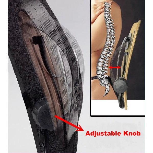 4-WAY ADJUSTABLE LUMBAR CUSHION