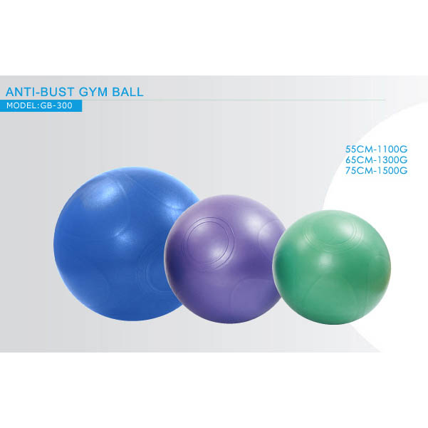 ANTI-BUST GYM BALL