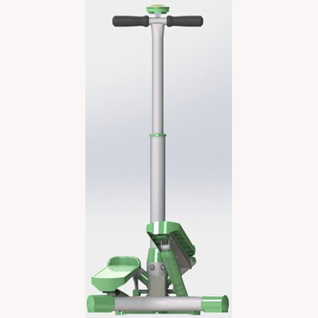 Swing stepper w/ handle bar