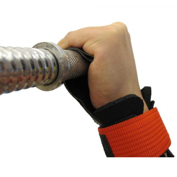 POWER GRIPS PRO WEIGHT LIFTING STRAPS WITH WRIST SUPPORTER