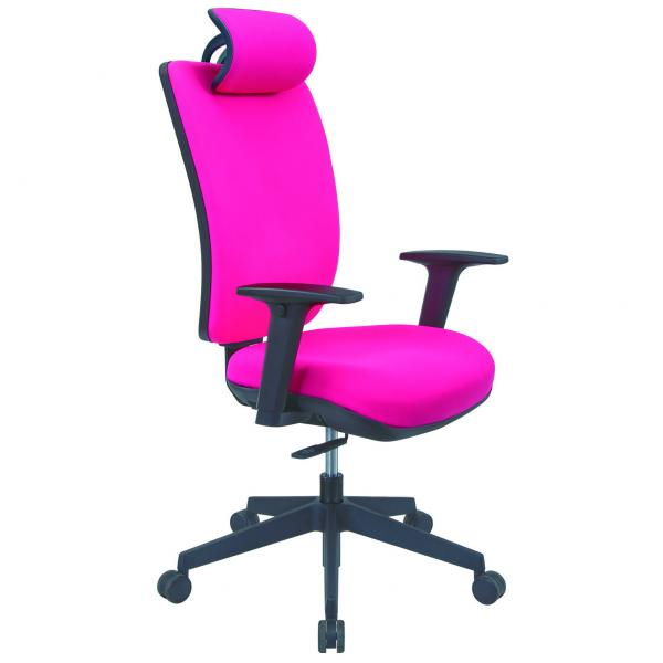ADJUSTABLE SEATBACK OFFICE CHAIR