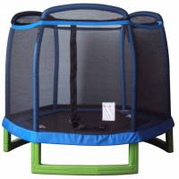 88 INCH CHILDREN'S TRAMPOLINE + 3 ARCH ENCLOSURE