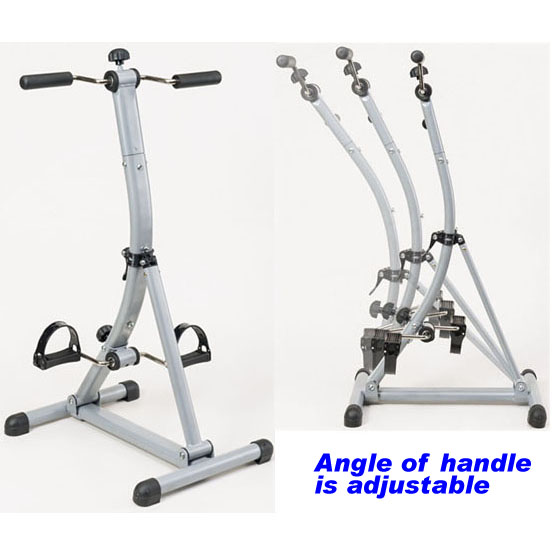 THE SEATED WHOLE BODY PEDALER