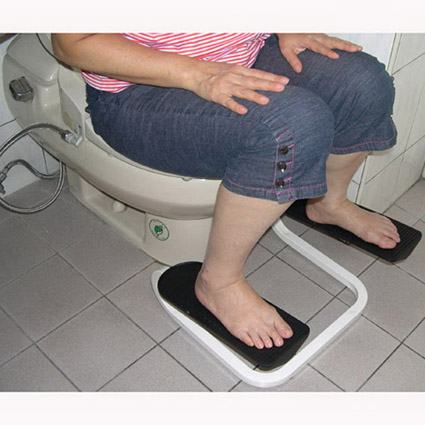 HANDY FOOTREST FOR COMMODE