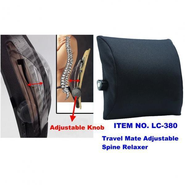 TRAVEL MATE ADJUSTABLE SPINE RELAXER
