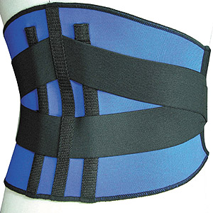 Waist Belt With Steel Stripes