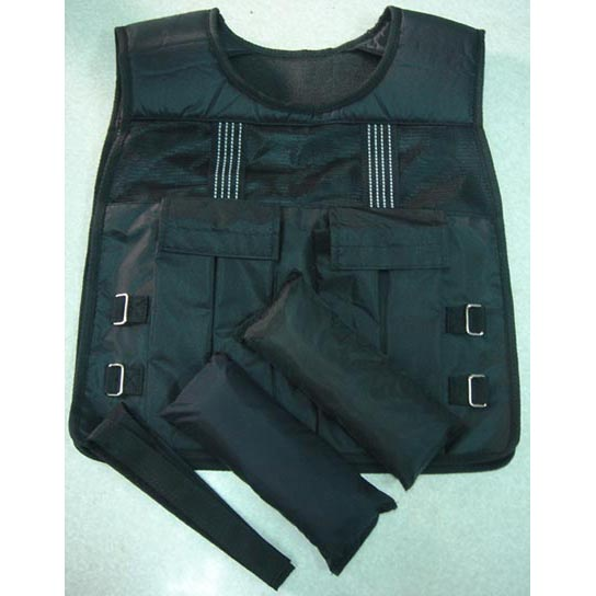 ADJUSTABLE WEIGHTED VEST-20 LBS