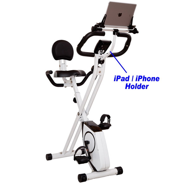 BIKE WITH iPad/iPhone HOLDER