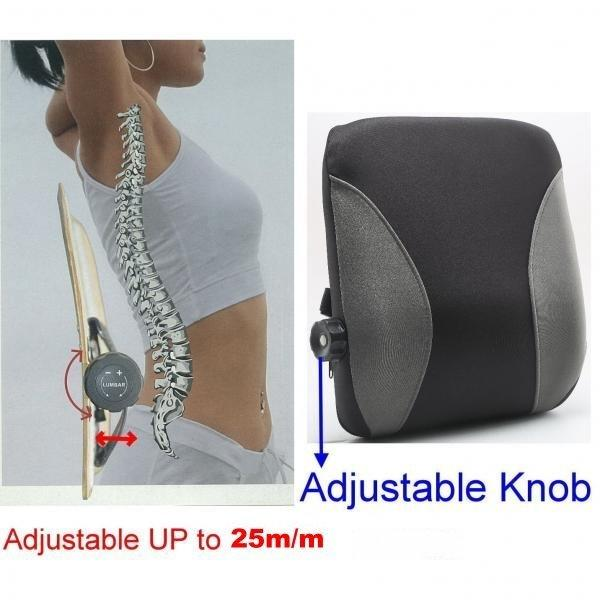 ADJUSTABLE LUMBAR CUSHION