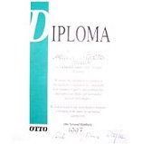 Diploma of high quality standards given by our clients